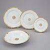 A 27 pcs 19th century kpm berlin porcelain dinner service.
