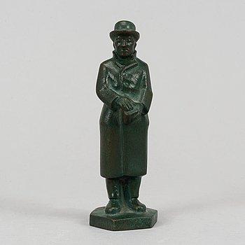 A signed Arvid Källström bronze sculputre.