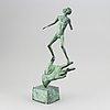 Carl milles, after. sculpture. bronze. height 49 cm.