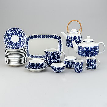 Marianne Westman, a part 'Mon Amie' coffee and tea service, Rörstrand (23 pieces).