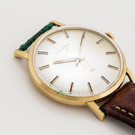 Longines, bofors, wristwatch, 34 mm.