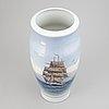 Bing & grøndahl, vase, porcelain, denmark.