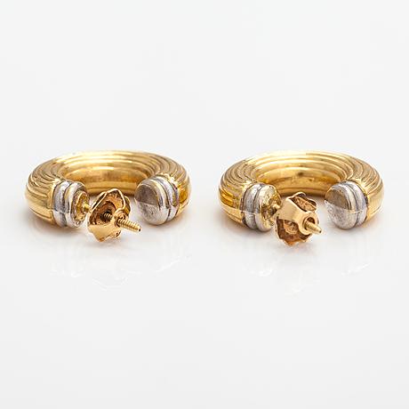 Örhängen, 18k guld.