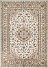 An oriental carpet from iran. ca 340x238 cm.