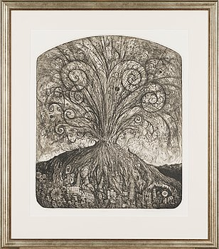 Pekka Hannula, etching, signed and dated -05, numbered 5/20 tpl'a.