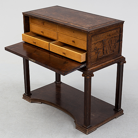 Axel einar hjorth, an attributed, secretaire, swedish grace 1920's.