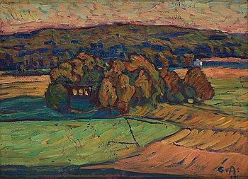 513. Ester Almqvist, Landscape.