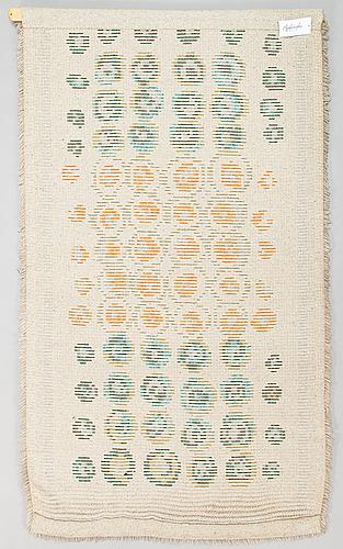 A 1960' finnish long pile rug. ca 165x95 cm.