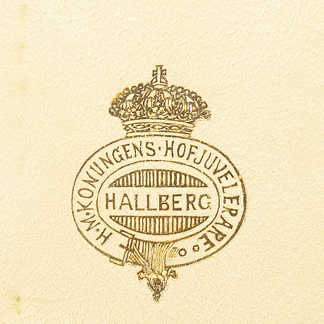 A swedish 20th century of 159 pcs of silver cutlery mark of cg hallberg stockholm 1914 total weight approx 7240 gr.