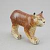 Lisa larson, a stoneware figurine, for gustavsberg for nk.
