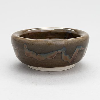 Michael Schilkin, a ceramic bowl signed Schilkin.