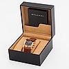 Bulgari assioma, limited edition 1/99, wristwatch, 38 x 39 mm.