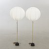 Floor lamps, luco, 2 pcs second half of the 20th century.