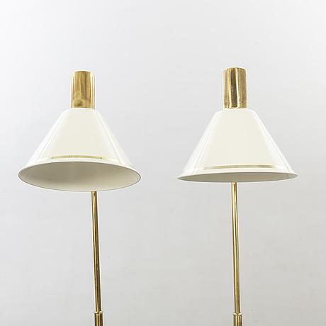 Floor lamps, a pair, örsjö belysning.