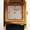 Hermes medor, wristwatch, 23 x 23 mm.