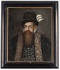 Johan baptista van uther, in the manner of, oil on canvas.