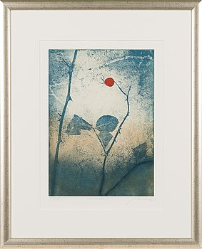 Johanna Koistinen, etching and aquatint, signed and dated 2011, numbered 43/80.