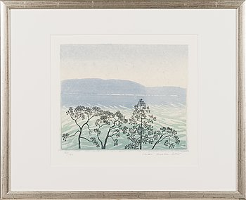 Inari Krohn, etching, signed and dated 2005, numbered 64/100.
