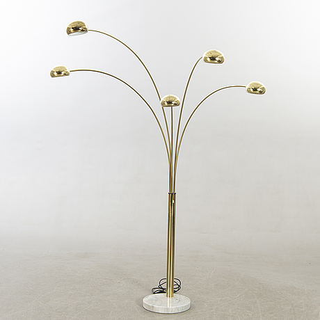 A floor lamp by cottex. later part of the 20th century.