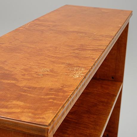 A birch bookcase, 1920's/30's.