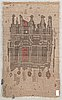 Raija gripenberg, a finnish long pile ryijy rug. circa 177x105 cm.