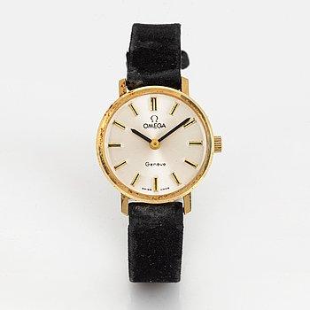 Omega, Geneve, armbandsur, 24 mm.