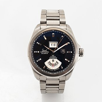 Tag Heuer, Grand Carrera, wristwatch, 42.5 mm.