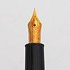 A montblanc meisterstück no 146 fountain pen and a ballpoint pen.