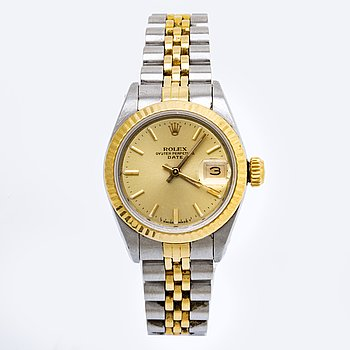 Rolex Oyster Perpetual, Datejust, Chronometer, wristwatch 26 mm.