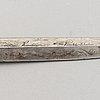 A finnish knife signed kauhavan puukkotehdas, first half of the 20th century.