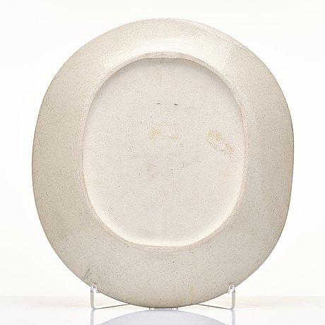 Birger kaipiainen, a stoneware dish, arabia, finland.