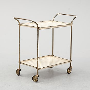 A drinks trolley, 1950's/60's.