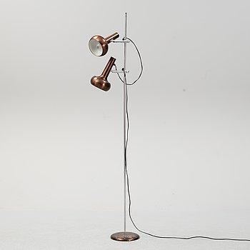 A Danish floor light, second half of the 20th Century.