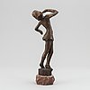 Axel olsson, a bronze sculpture, signed and numbered 8/10.