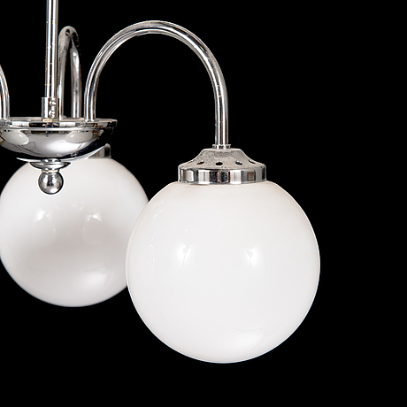 A late 20th century ceiling lamp.