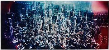 Jacob Felländer, photograph mounted to glass signed and numbered 1/2.