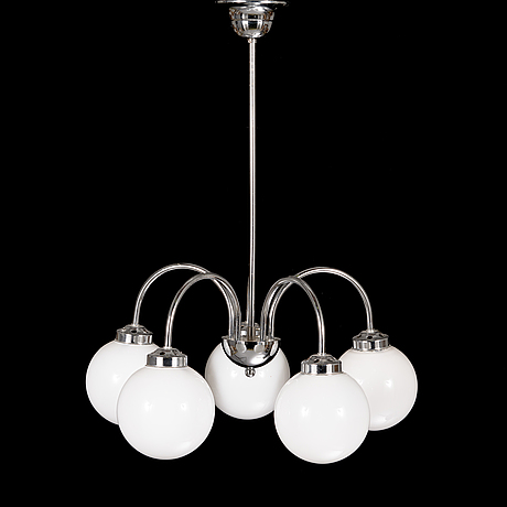 A ceiling lamp model 2024/5, for at-valaisin finland, late 20th century.