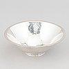 Tore kullander, a silver bowl, borås 1963.