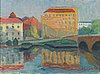 Inkeri koivisto, oil on canvas, signed and dated -48.