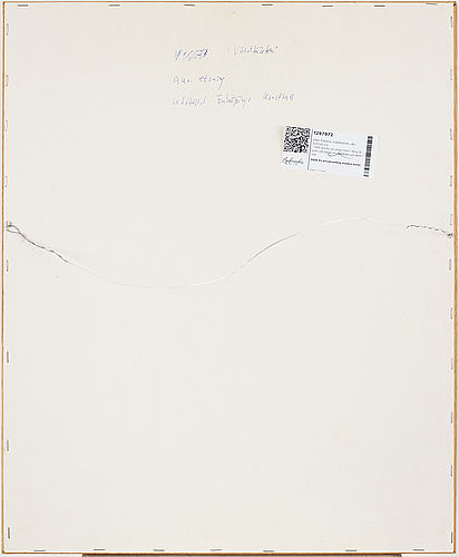 Sten eklund, dry point etching with watercolouir, signed and dated 1997.