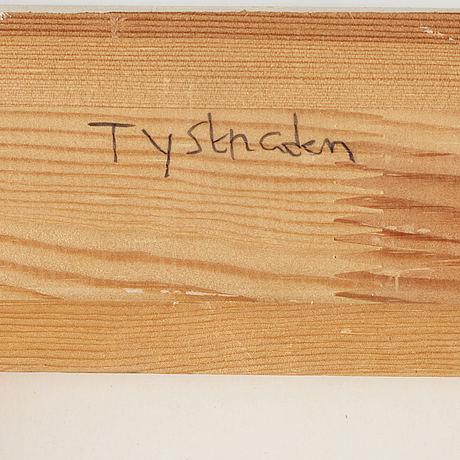 C göran karlsson, tempera på papper, signerad och daterad -98.
