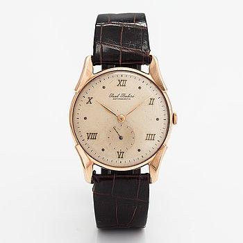 Paul Buhre, wristwatch, 34 mm.