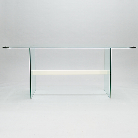 A 21st century dining table.