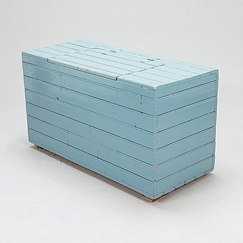 A box for firewood, 20th century.
