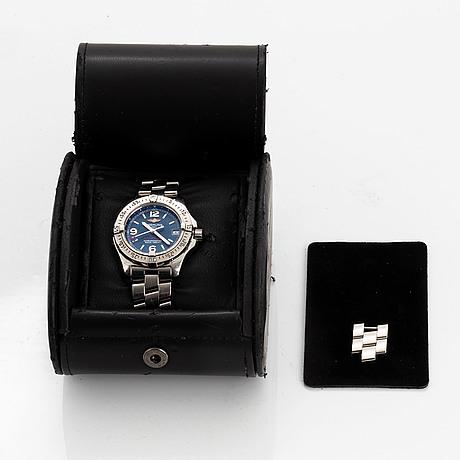 Breitling, colt oceane, armbandsur, 33.2 mm.