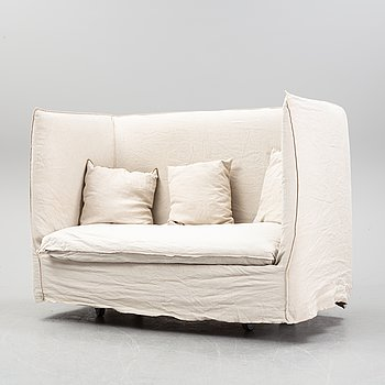 """Paola Navone, a 21st century sofa """"Ghost 18"""" for Gervasoni, Italy."""