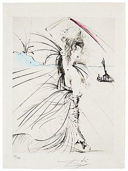 """757. Salvador Dalí, """"La Vénus aux Fourrures""""."""