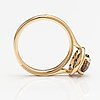 Ring, 14k guld, diamanter 1.54 ct tot.