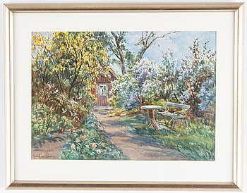 Anna Gardell-Ericson, watrecolour, signed.