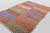 A carpet, kilim, ca 290 x 204 cm.